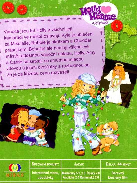 Holly Hobbie a její přátelé Vánoční přání