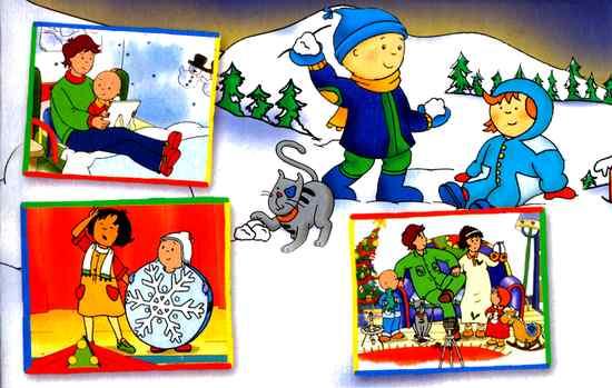 Caillou s Christmas