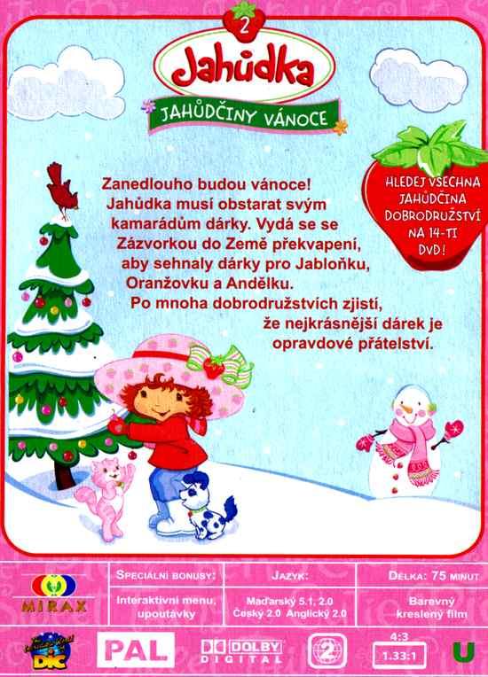 Jahůdka DVD Jahůdčiny Vánoce